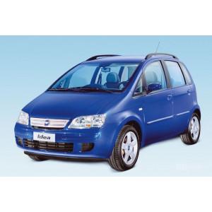 Příčníky Thule WingBar Black Fiat Idea 2003-2012 s podelníky