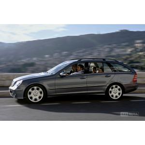 Příčníky Thule WingBar Black Mercedes-Benz C-klasse Combi 2000-2006 s podelníky