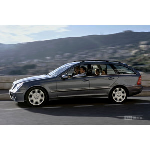 Příčníky Thule WingBar Edge Black Mercedes-Benz C-klasse Combi 2000-2006 s podélníky