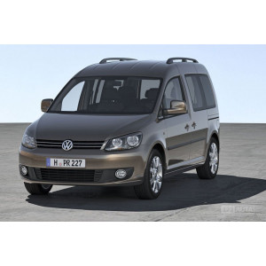 Příčníky Thule WingBar Black VW Caddy 2004-2015 s podélníky