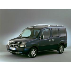 Příčníky Thule WingBar Edge Black Fiat Doblo Malibu 2000-2009 s podélníky