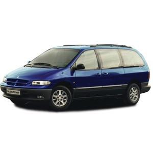 Příčníky Thule SmartRack Chrysler Grand Voyager 1996-2005 s podélníky
