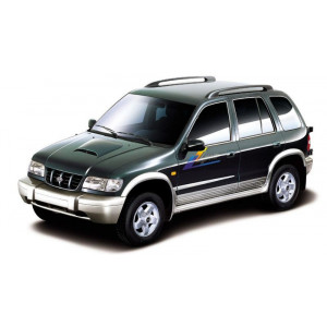 Příčníky Thule SmartRack Alu Kia Sportage 1996-2010 s podélníky