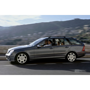 Příčníky Thule SmartRack Mercedes-Benz C-klasse Combi 2000-2006 s podélníky