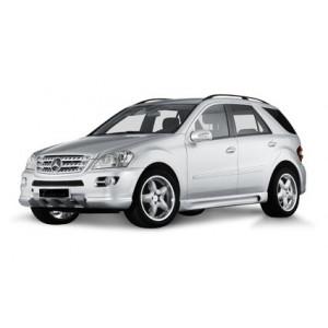 Příčníky Thule SmartRack Mercedes-Benz M-klasse 2005-2011 s podélníky