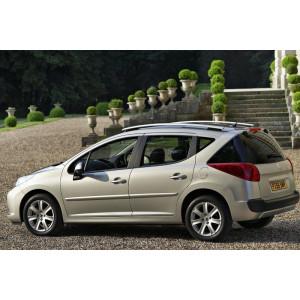 Příčníky Thule SmartRack Alu Peugeot 207 SW Kombi 2007-2012 s podélníky
