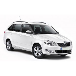 Příčníky Thule SmartRack Alu Škoda Fabia II Combi 2008-2014 s podélníky