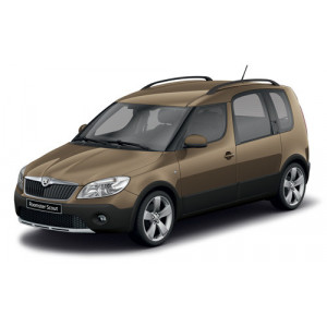 Příčníky Thule SmartRack Škoda Roomster Scout 2007-2015 s podélníky