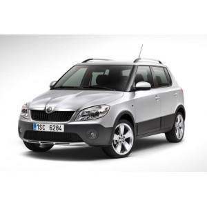 Příčníky Thule Evo Škoda Fabia Scout II Hatchback 2009-2014 s podélníky