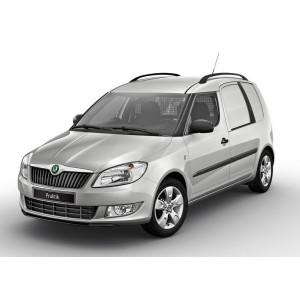 Příčníky Thule WingBar Evo Black Škoda Praktik 2007-2015 s podélníky