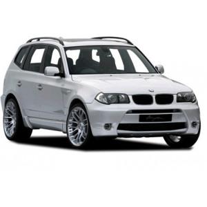 Příčníky Thule WingBar Evo BMW X3 E83 2003-2010 s podélníky