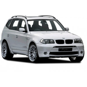 Příčníky Thule WingBar Evo Black BMW X3 E83 2003-2010 s podélníky