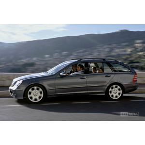 Příčníky Thule Evo Mercedes-Benz C-klasse Combi 2000-2006 s podélníky