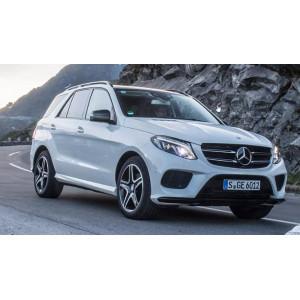 Příčníky Thule Evo Mercedes-Benz GLE 2015- s podélníky