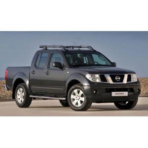 Příčníky Thule WingBar Evo Nissan Navara Double Cab 2005-2015 s podélníky