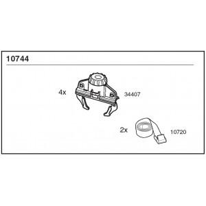 Sada Fast-Grip + Pásky Thule 10744