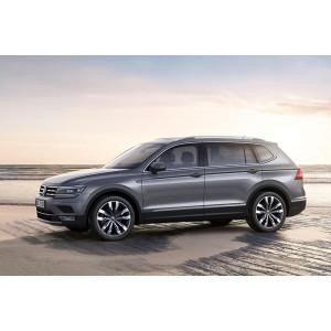 Příčníky Thule WingBar Evo Black VW Tiguan Allspace 2018- s podélníky