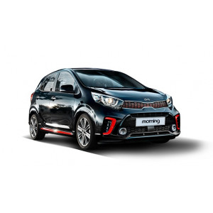 Příčníky Thule WingBar Evo Black Kia Morning 2017-