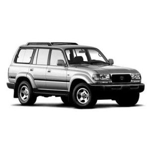 Příčníky Toyota Land Cruiser 98- s podélníky Aero