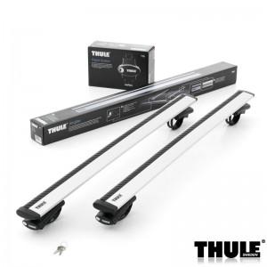 Příčníky Thule 775 + 962 na vozidla s podélníky