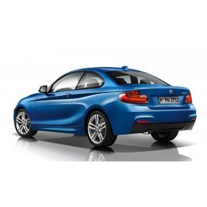 Příčníky BMW 2 Coupé 14- s pevnými body Aero