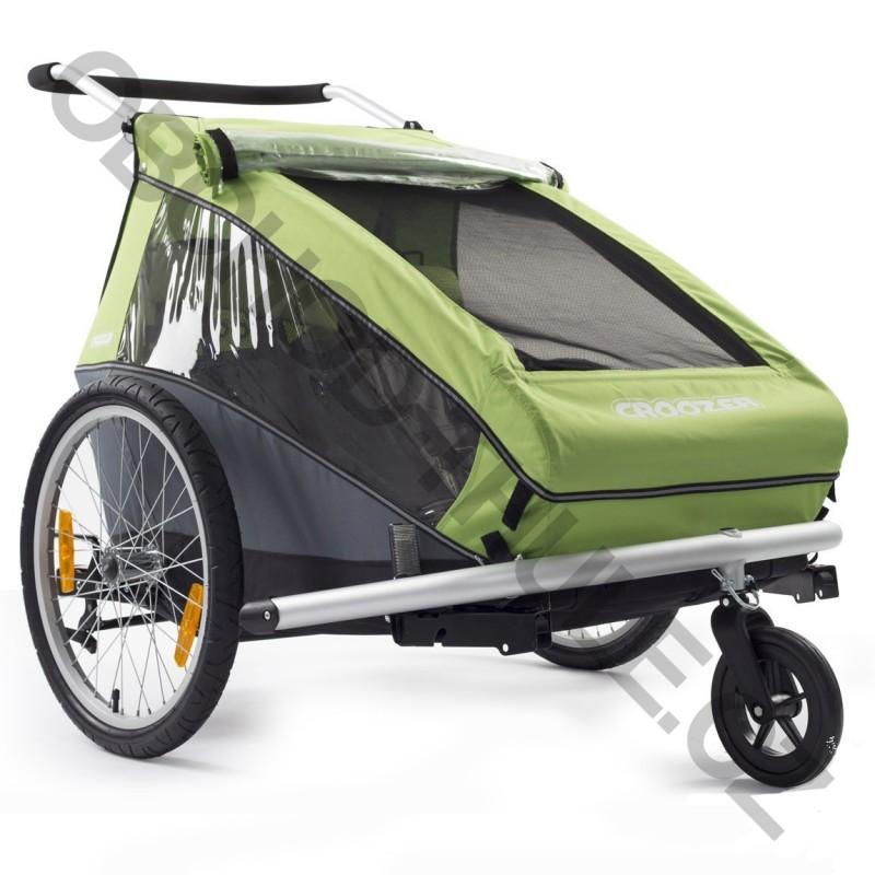 croozer kid for 2 2015 green obchod thule cz. Black Bedroom Furniture Sets. Home Design Ideas