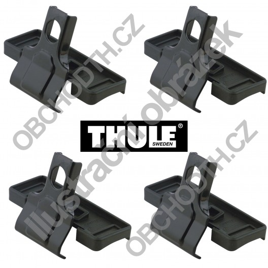 Kit THULE TOYOTA Hilux, 4-dr Double Cab, 16- Kit THULE 1809 - фото 11