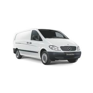 Nosič Mercedes Benz Vito VAN s pevnými body 04-