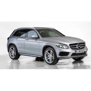 Příčníky Mercedes-Benz GLC 15- s integrovanými podélníky Aero