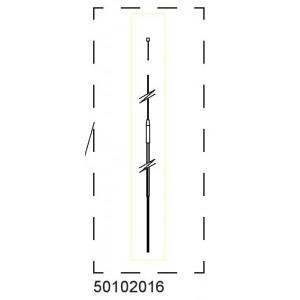 Brzdové lanko pro CX2 50102016