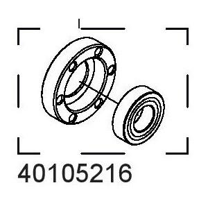 Náboj a ložisko kotoučové brzdy 40105216