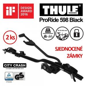 Thule ProRide 598 Black sada 2 ks
