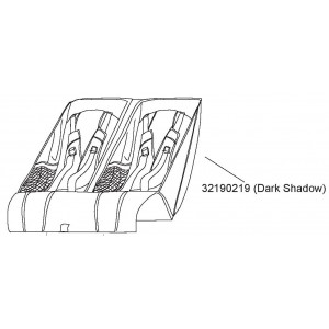 Sedátko Dark Shadow Thule 32190219
