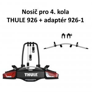 Thule VeloCompact 926 + adaptér 926-1 pro 4 kola