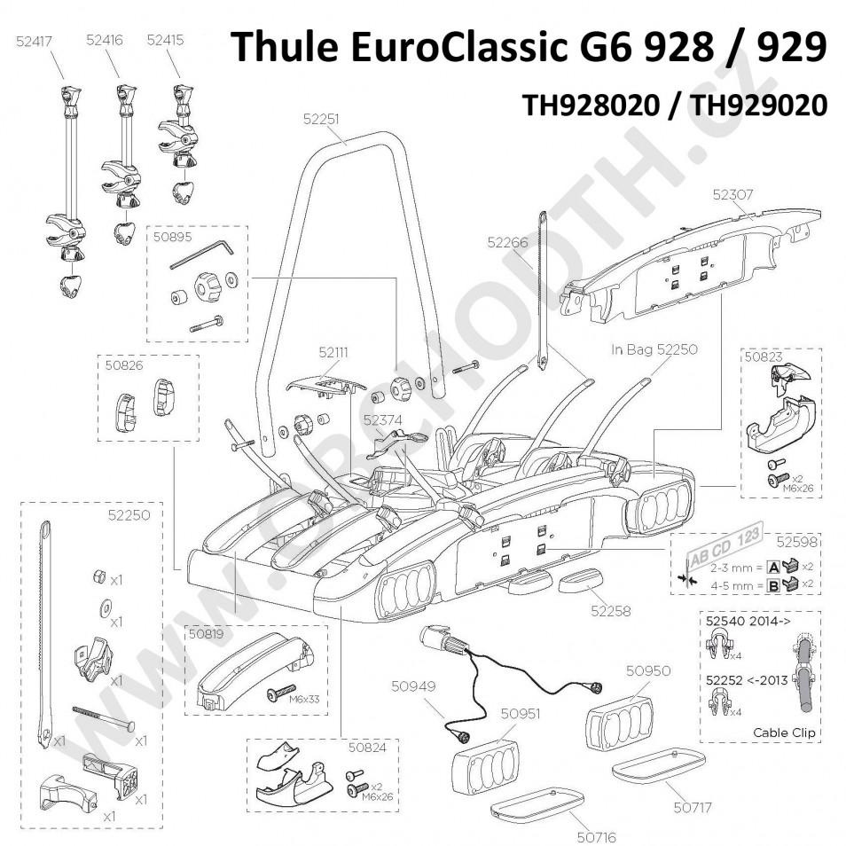 ND Thule G6 928 / 929