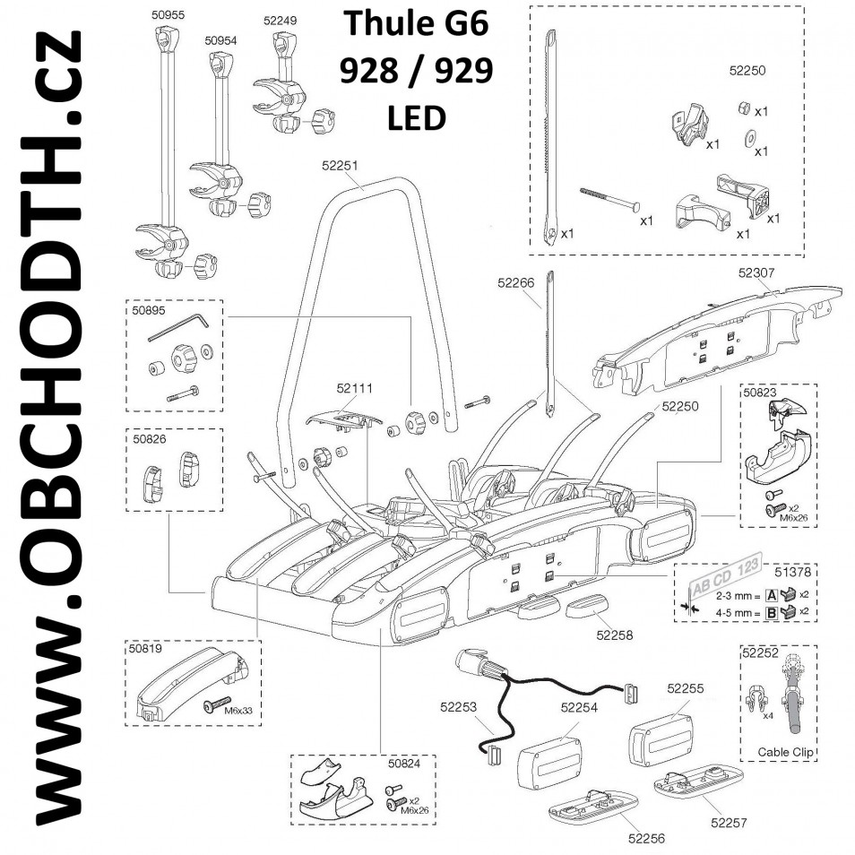 ND Thule G6 928 / 929 LED
