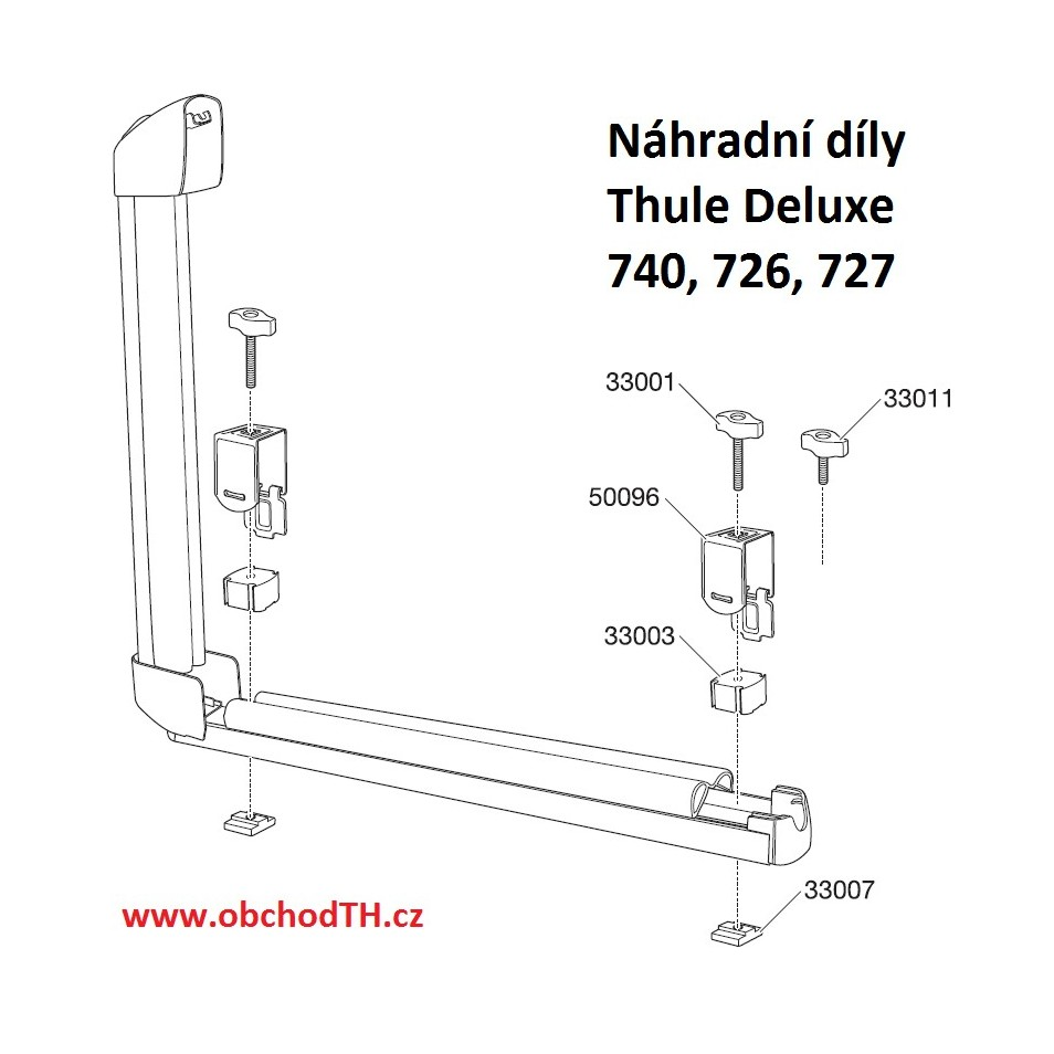 ND Thule Deluxe 726, 727, 740