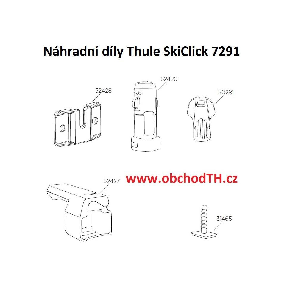 ND Thule SkiClick 7291