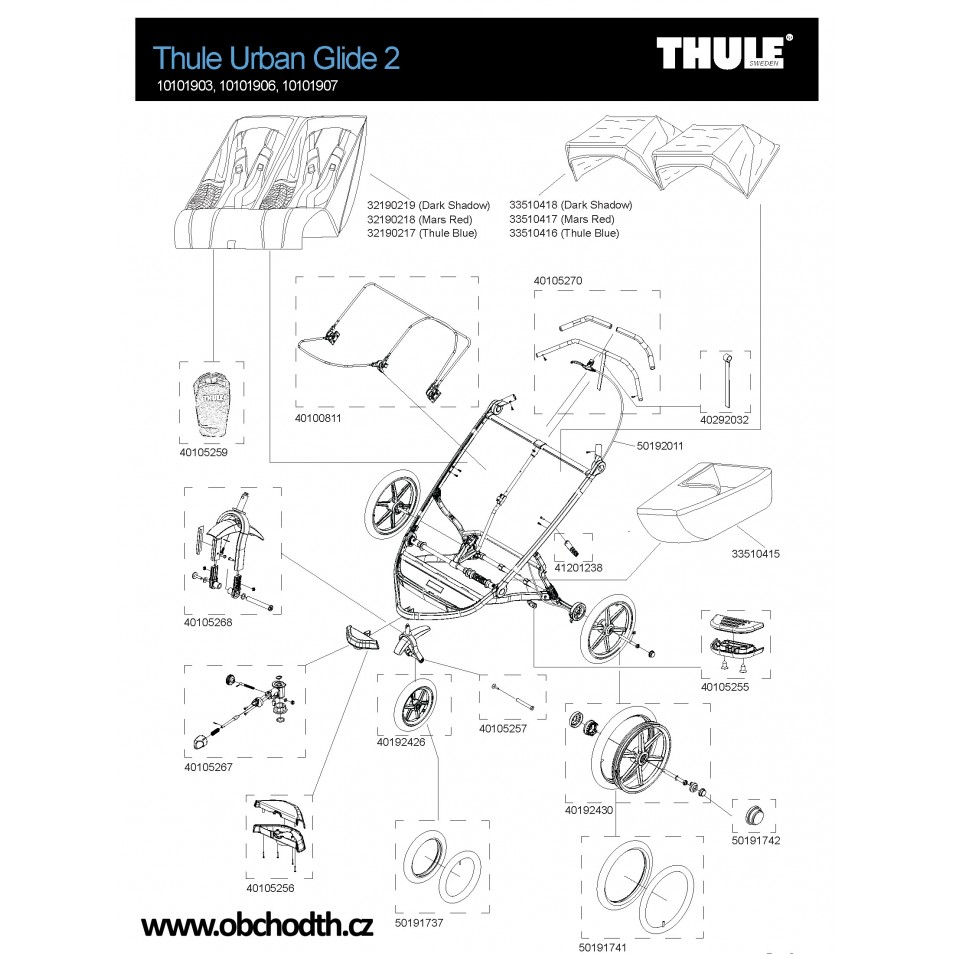 ND Thule Urban Glide 1 Double