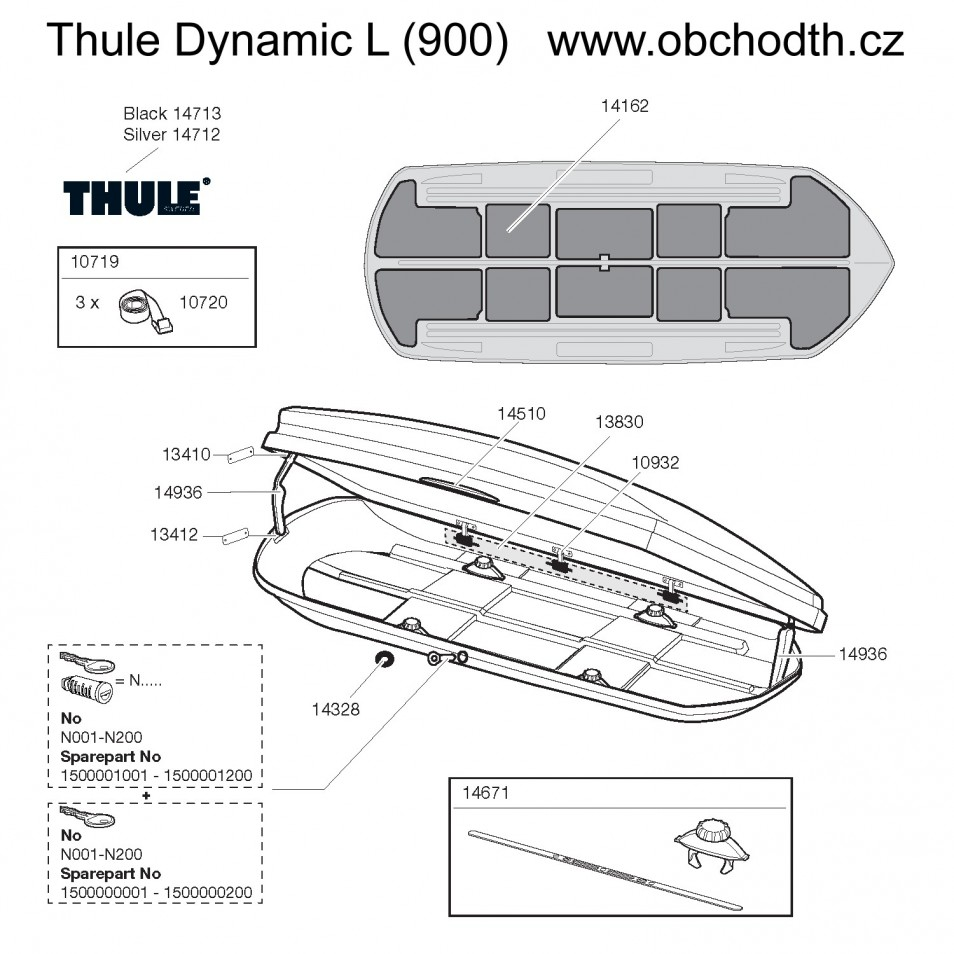ND Thule Dynamic L (900)