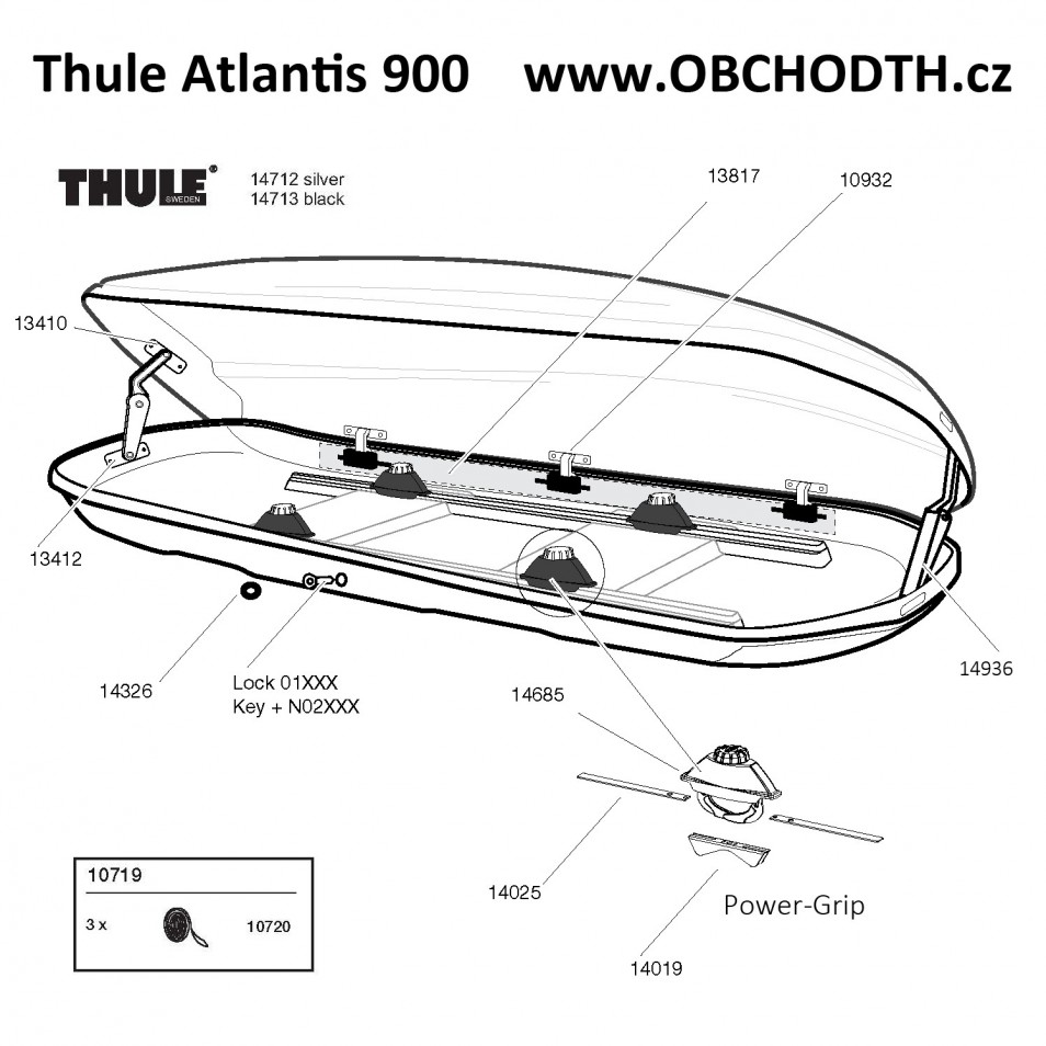 n hradn d ly thule atlantis 900 obchod thule cz. Black Bedroom Furniture Sets. Home Design Ideas