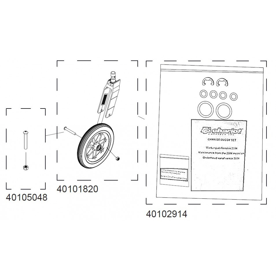 ND Thule Chariot Strolling set 20100209