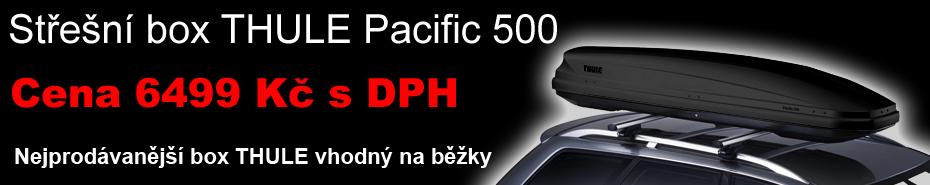 Střešní box Thule Pacific 500 černý antracit